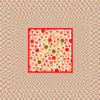 GuoDong Ren - Angry Dots - Connect the color blind dots whose sum is 8 アートワーク
