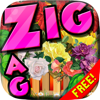 Janram Denmun - Words Zigzag : Flower in The Garden Crossword Puzzles Free with Friends アートワーク