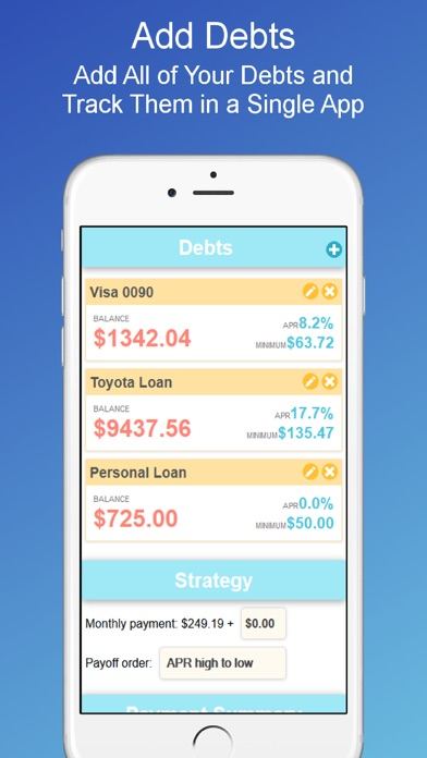 Debt Payoff Planner and Calculator on the App Store - debt payoff calculator