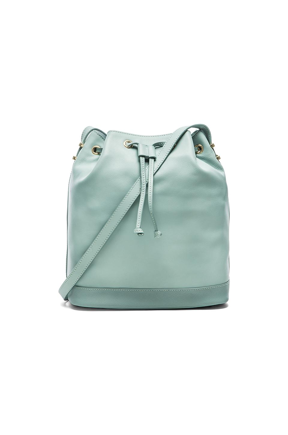 Bag Of Ice Price Benah By Karen Walker Enid Bucket Bag In Ice Mint From Revolve