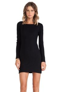 Long Sleeve Fitted Dress | All Dress