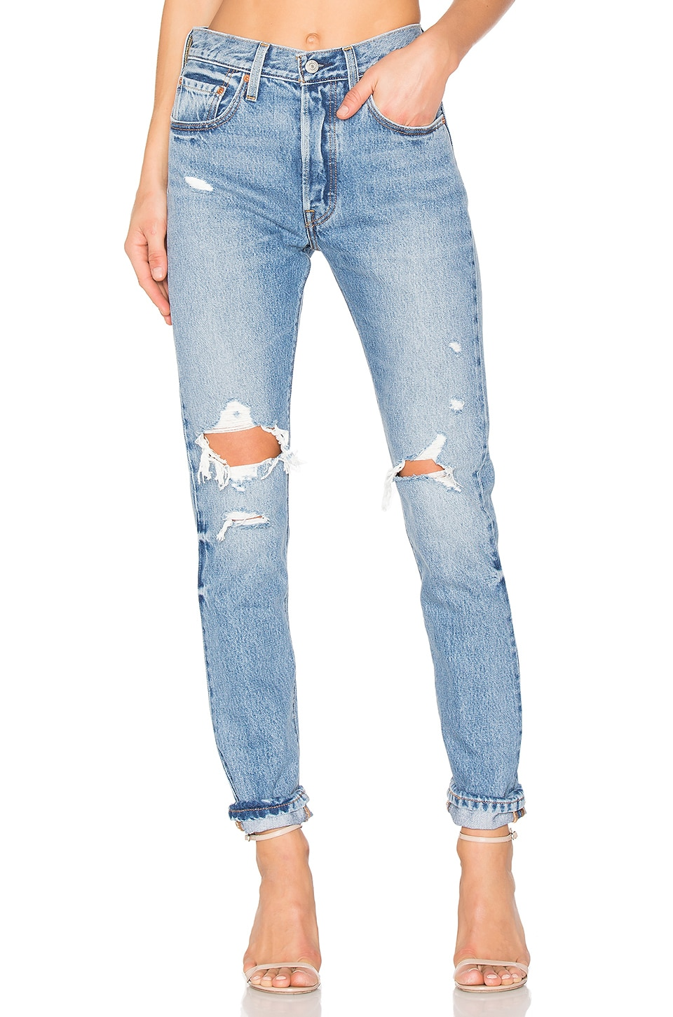 Levi Jeans 501 Levi S 501 Skinny In Old Hangouts Revolve