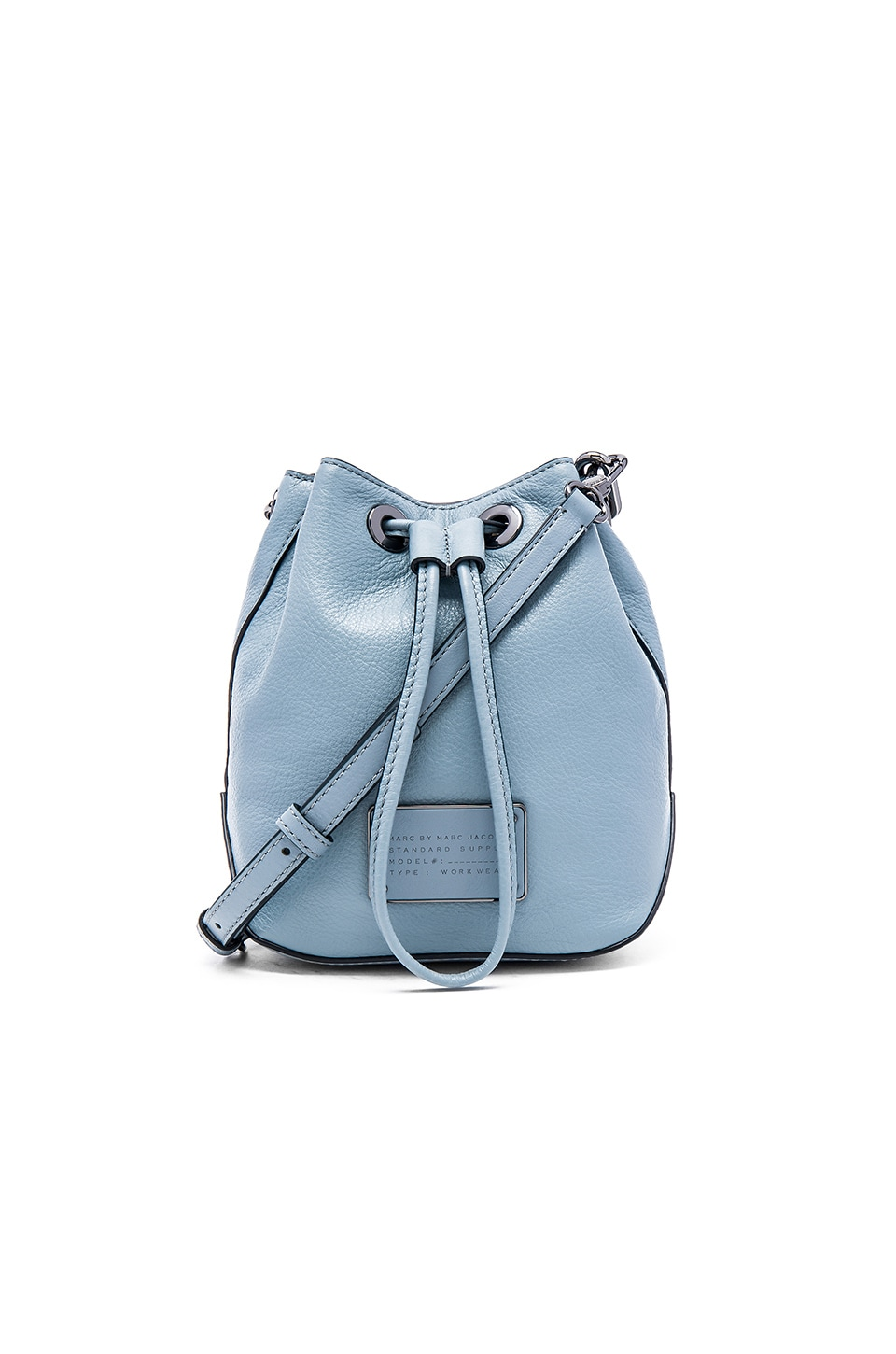 Bag Of Ice Price Marc By Marc Jacobs Too Hot To Handle Drawstring Bucket Bag In Ice Blue From Revolve