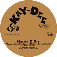 Spread Love Harris & Orr song