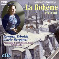 Act One: O soave fanciulla Renata Tebaldi, Carlo Bergonzi, Orchestra of the Accademia di Santa Cecilia & Roma & Tullio Serafin