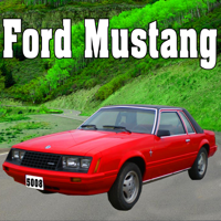 Ford Mustang Starts, Idles, Pulls Away at a Very Fast Speed, From Rear Sound Ideas