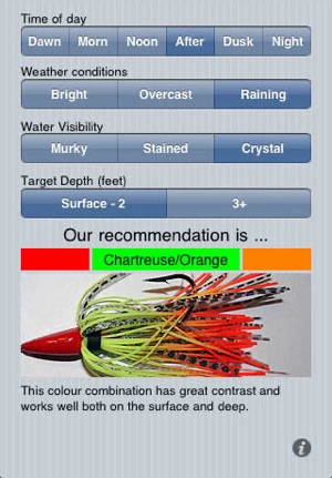 Lure A Fish - Fishing Lure Color Picker on the App Store