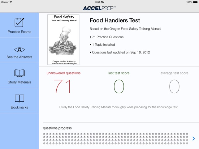 Food Handlers Test on the App Store - food handlers test answers