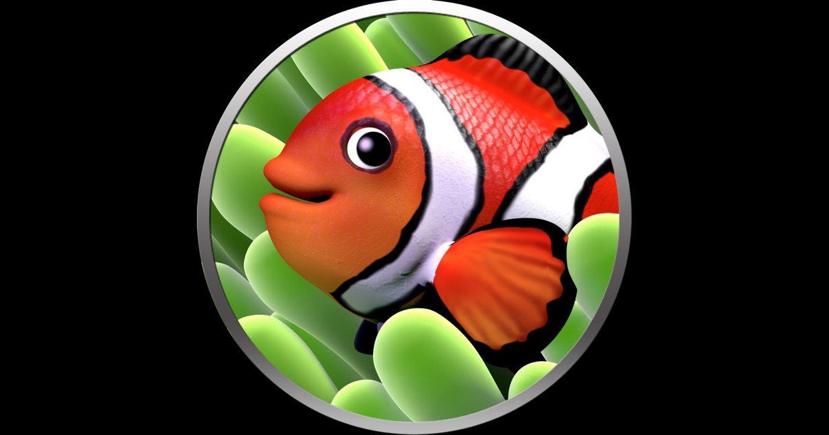 Apple Clownfish Wallpaper Iphone X Aquarium Screensaver On The Mac App Store