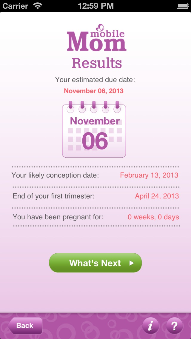 Pregnancy Due Date Calculator - My Baby Wheel  Countdown Birth
