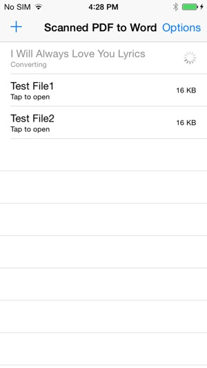 Scanned PDF to Word on the App Store