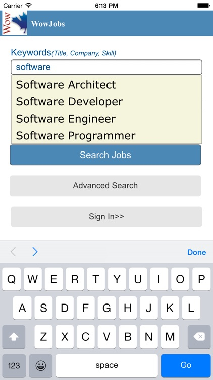 WowJobs Jobs by wowjobs Incorporated