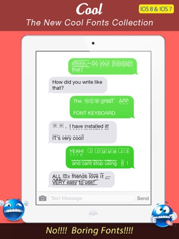 Font Keyboard Pro - Cool New Text Styles  Emoji Art Font For - cool text message art