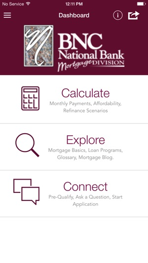 BNC National Bank Mortgage App on the App Store