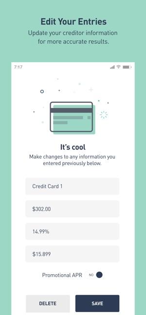 Debt Snowball Calculator on the App Store