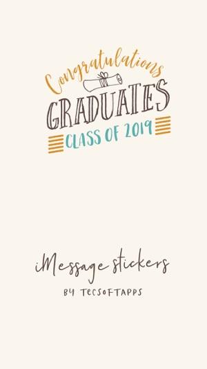 Congratulations Graduates 2019 on the App Store