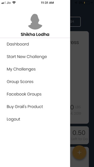 Grail\u0027s Weight Loss Challenge on the App Store