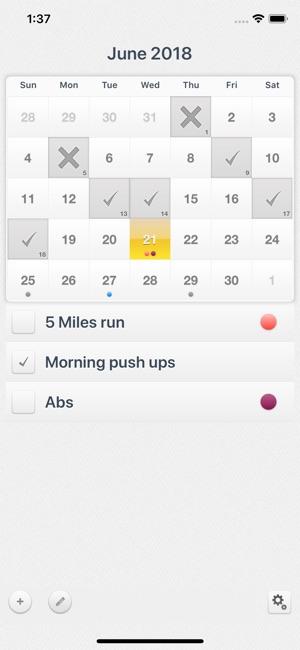 Workout Calendar - Motivation on the App Store - workout calendar