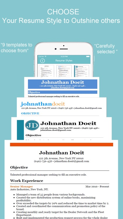 Resume Builder - CV Designer by Luc Breton