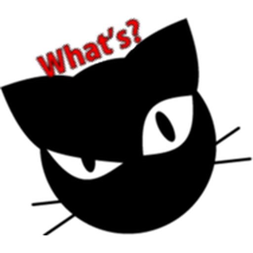 Black Cat Emoji Catmoji Sticker by Nguyen Hoang