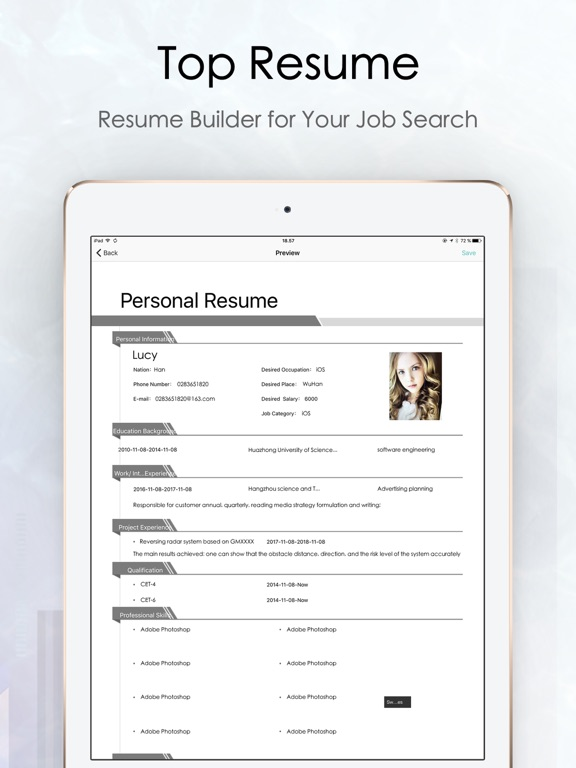Top Resume -CV maker  Builder App Price Drops