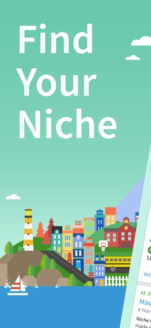 Niche Colleges, K-12  Places on the App Store