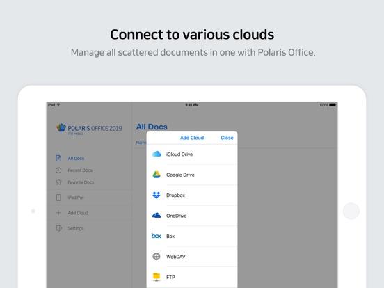 Polaris Office 2019 -Docs, PDF IPA Cracked for iOS Free Download