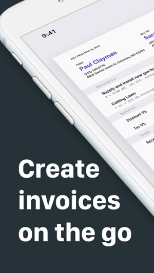 Invoice Maker 20 on the App Store
