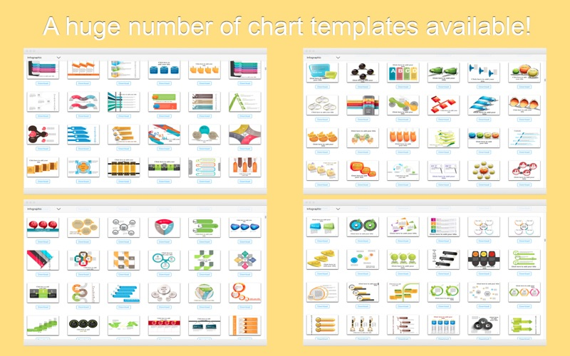 Factory-(3000+)Chart templates for PowerPoint App Price Drops - price chart templates