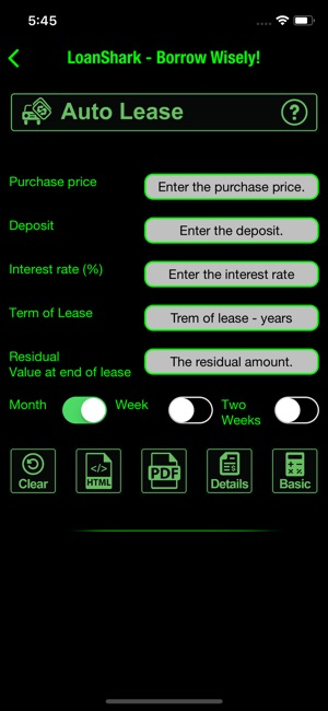 Loan Shark Loan Mortgage Lease on the App Store