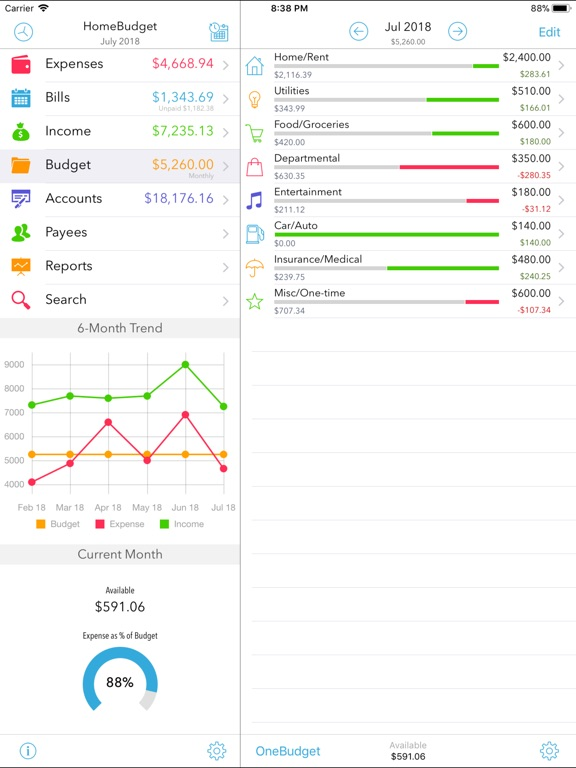 HomeBudget with Sync IPA Cracked for iOS Free Download