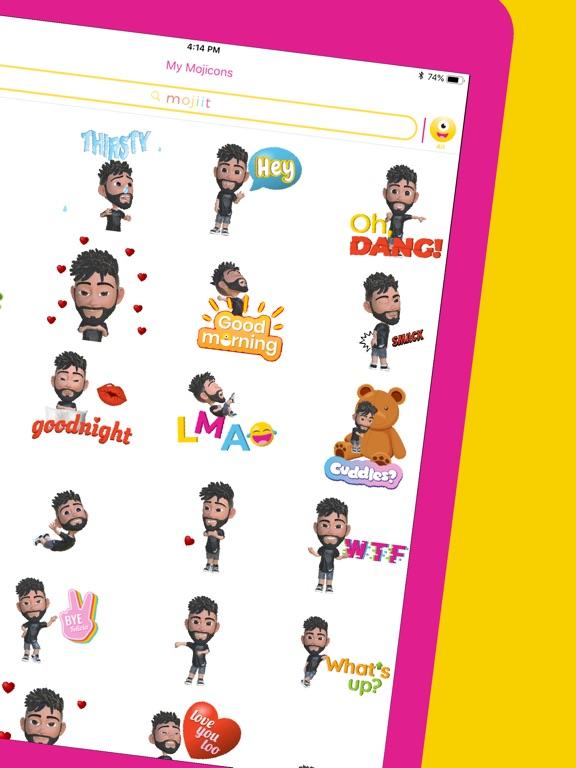Mojiit Custom Emoji GIF App Price Drops