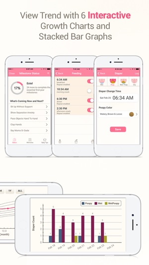 MammaBaby - Breast feeding App  Baby Log Tracker on the App Store
