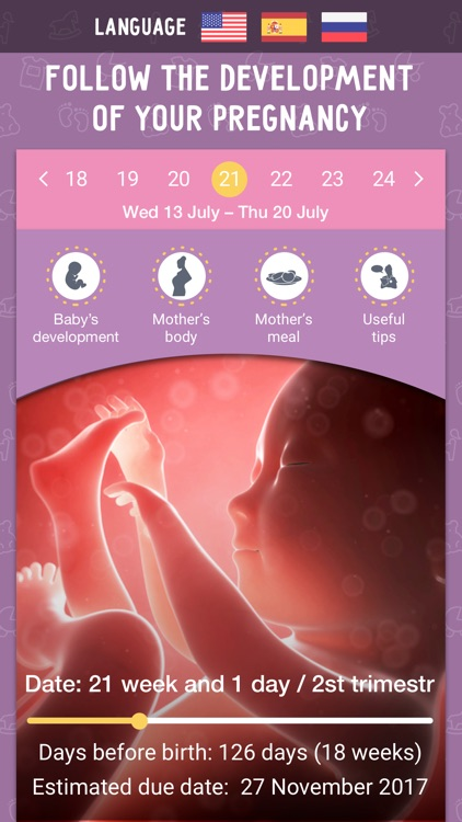 Pregnancy Tracker MD PRO Due Date Calculator! by Mobile Dimension LLC