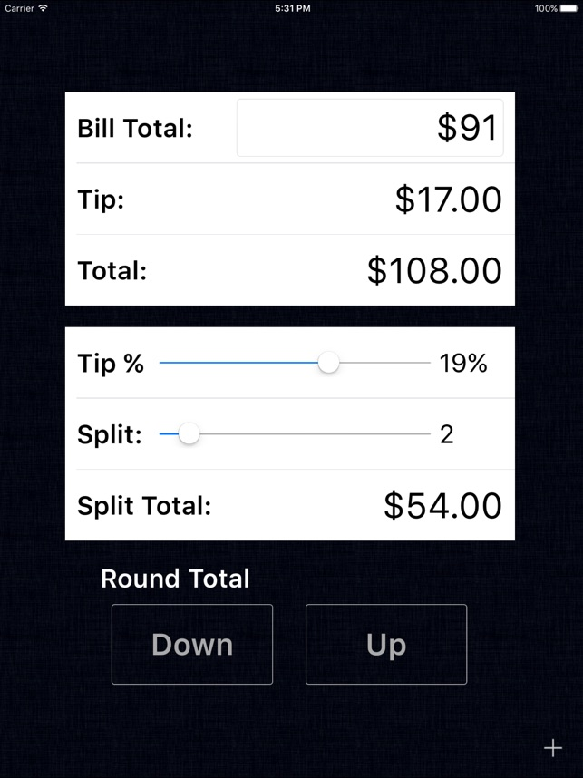 Tip Calculator  Gold on the App Store