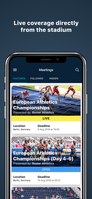 Roster Athletics on the App Store