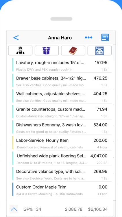 Contractor Estimate  Invoice by JZ Mobile LLC