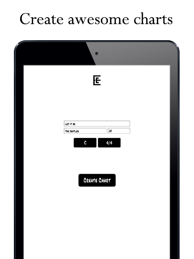 Easy Chart - Music Chart Maker on the App Store