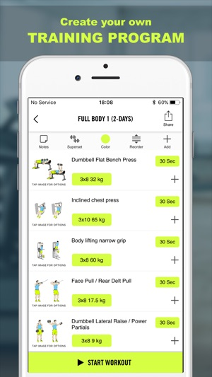 Gym Life - Workout Schedule on the App Store
