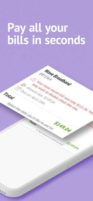Prism Pay Bills, Bill Reminder on the App Store