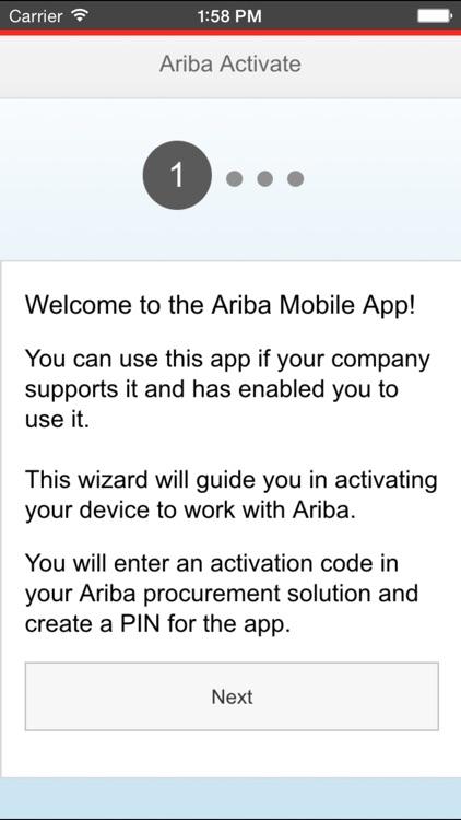 Ariba Mobile by Ariba, an SAP Company