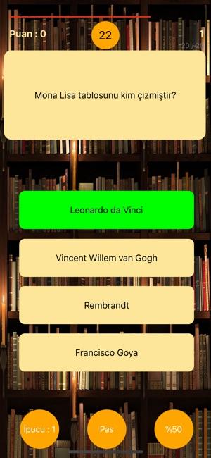 Genel Kültür Bilgi Yarışması on the App Store
