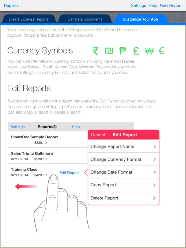 SmartDoc Expense Report on the App Store