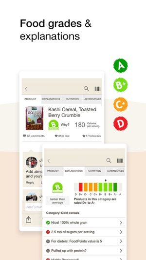 Fooducate - Nutrition Tracker on the App Store - nutrition tracker