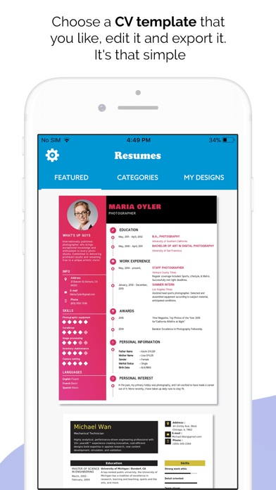 Quick Resume Builder, CV Maker App Price Drops - Quick Resume Builder