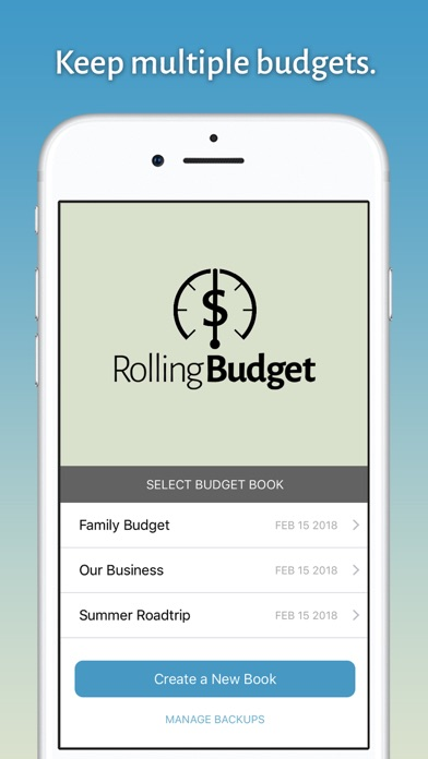 Rolling Budget - by Trynd LLC - Finance Category - AppGrooves Best Apps