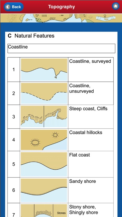 NAUTICAL CHART SYMBOLS  ABBREVIATIONS - by The Other Hat - Maps