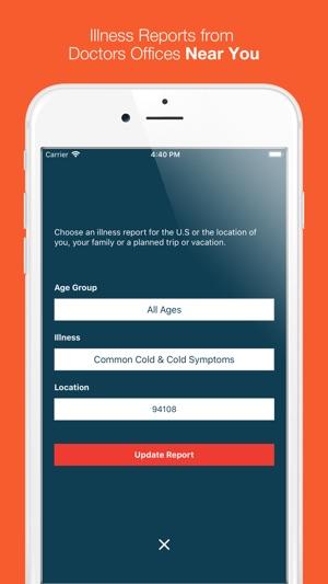 Doctors Report Illness Tracker on the App Store - vacation tracker app