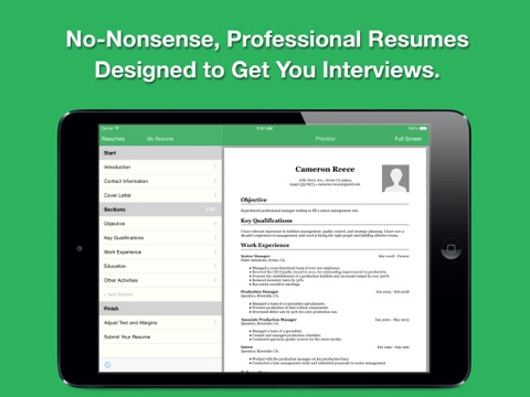 Smart Resume Pro Resume and CV Designer App Price Drops