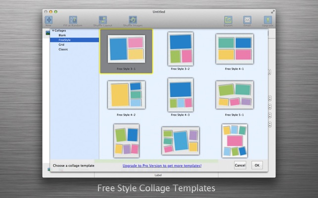 Photo Collage Maker - CollageFactory Free on the Mac App Store - free collage templates